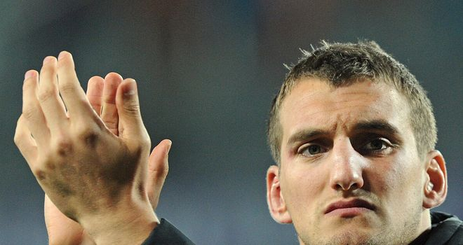Sam Warburton: Glad to be back in action after serving his three-week ban following red card