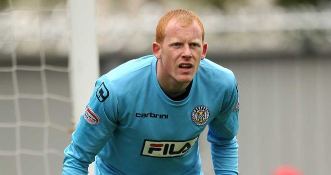 Craig Samson: St Mirren goalkeeper has joined Scotland squad ahead of Macedonia clash