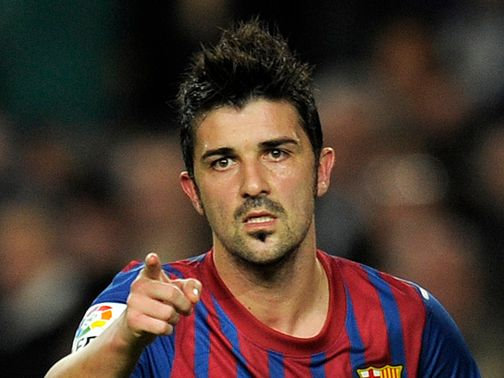 David Villa: Won't be involved at Euro 2012