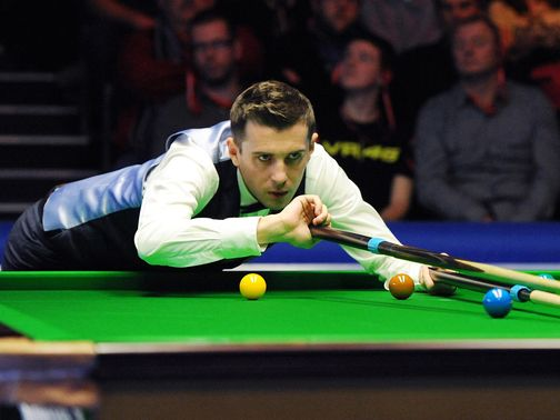 Mark Selby:Lost to Ding