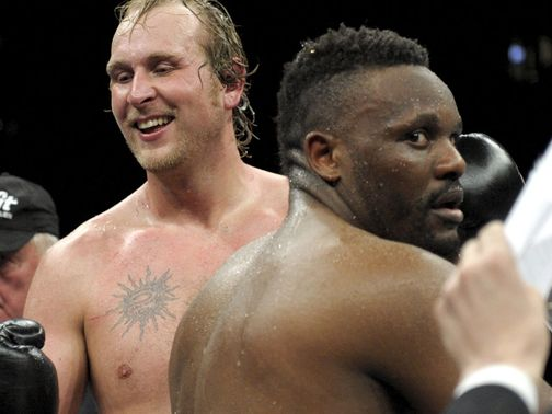 Dereck Chisora: Suffered a contentious points defeat to Robert Helenius