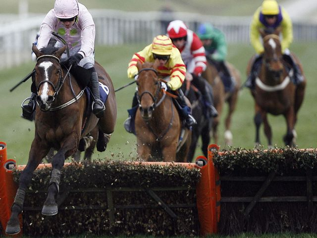 Mikael D'Haguenet (L): Involved in drama at Punchestown