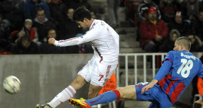 Alexandre Pato: Opened the scoring for Milan
