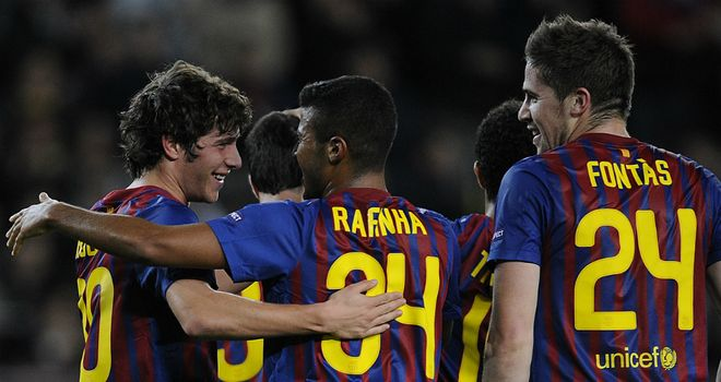 Sergi Roberto: Opened the scoring for Barcelona