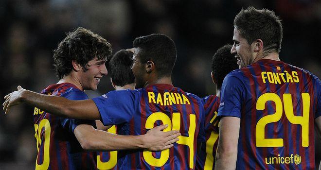 Sergi Roberto: Opened the scoring for Barcelona
