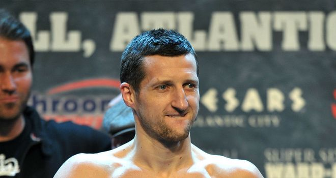 Carl Froch: Poised for May title shot