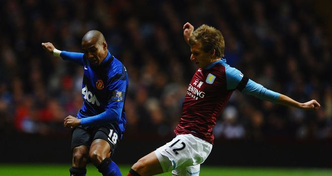 Ashley Young: Facing Villa this weekend