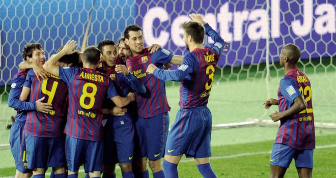 Barcelona: Champions of the world after 4-0 win