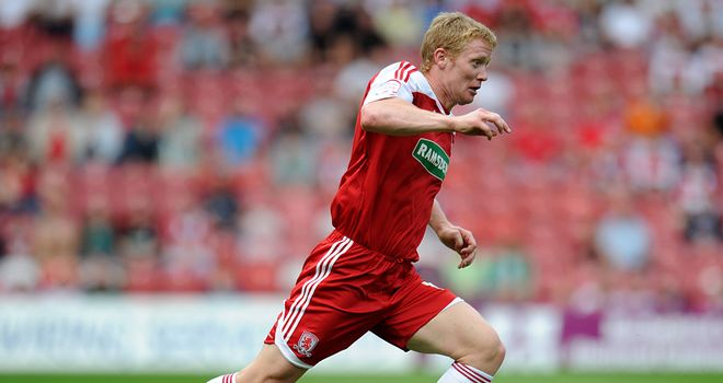 Barry Robson: Training with Middlesbrough after leaving Vancouver Whitecaps