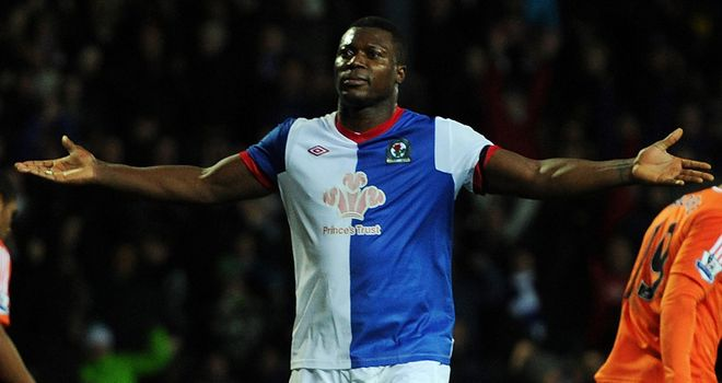 Yakubu: Confident he can keep on scoring and help Blackburn to Premier League safety