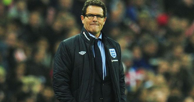 Fabio Capello: England head coach will hope for a positive performance against the Netherlands in February