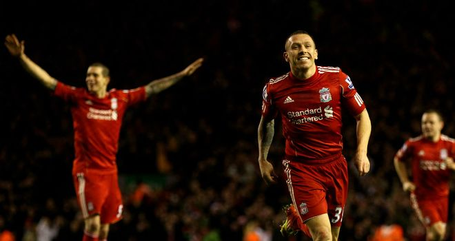 Craig Bellamy: Has scored six goals for Liverpool this season