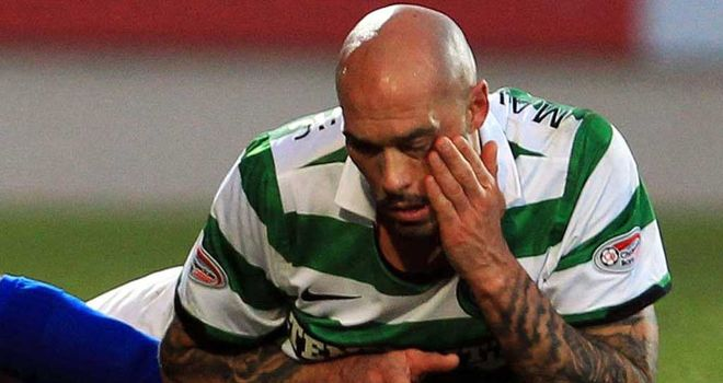 Daniel Majstorovic: Celtic defender is out for six weeks after surgery on a fractured cheekbone