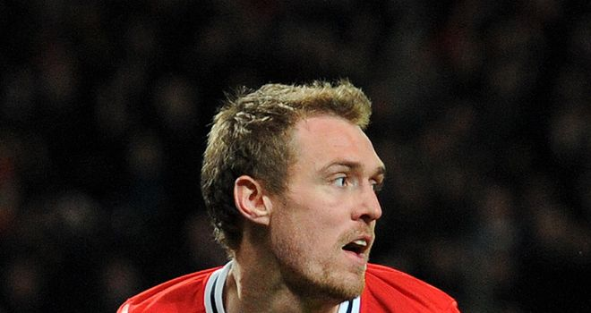 Darren Fletcher: Sidelined with bowel condition