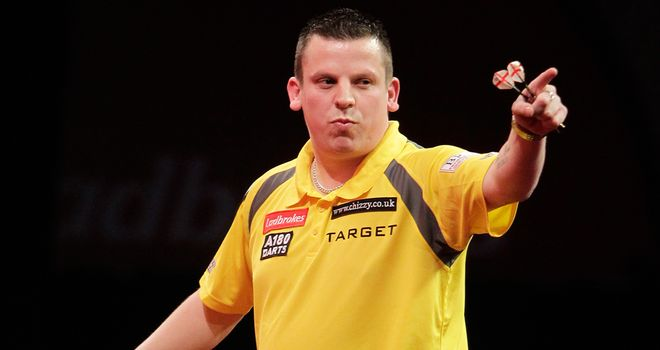 Dave Chisnall: Through to Winners Group of Champions League Darts