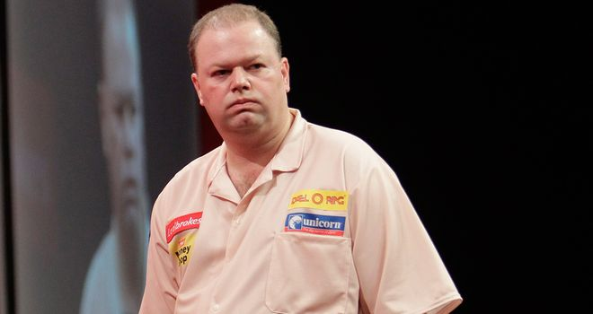 Raymond van Barneveld: Dumped out by bricklayer
