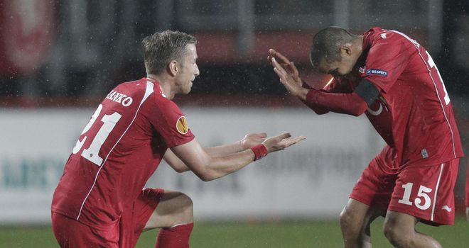 FC Twente: Held to a 1-1 draw by Utrecht