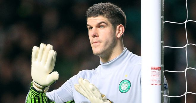 Fraser Forster: Out of favour at Newcastle, but is yet to secure a permanent move elswhere