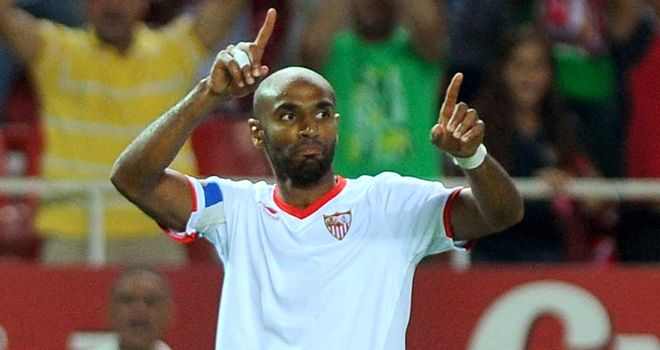 Kanoute: Hoping to fire Sevilla into Europe next season