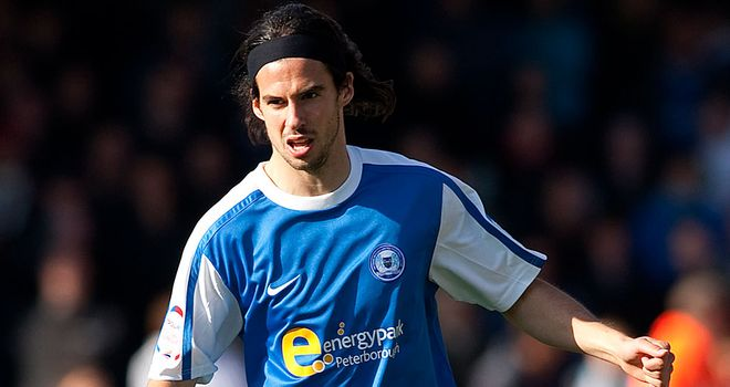George Boyd: Stays at Peterborough