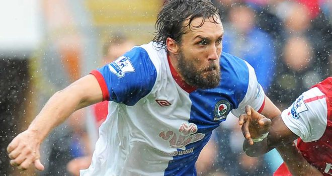 Gael Givet: The Blackburn defender will undergo tests on his heart in Manchester on Friday