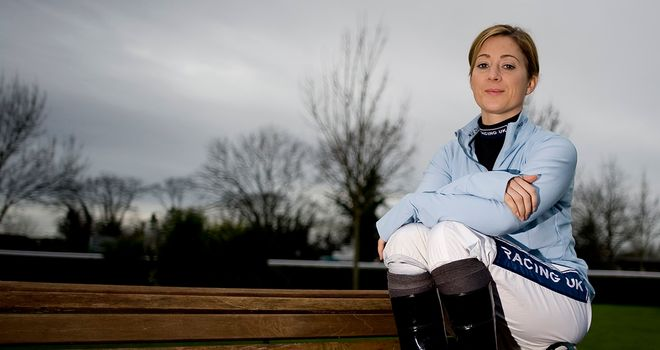 Hayley Turner: Forced to sit out Wednesday evening's action