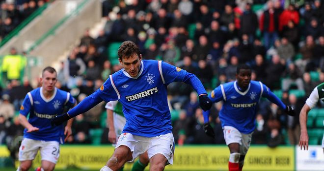 Nikica Jelavic: Rangers striker has been linked with a move away from Ibrox