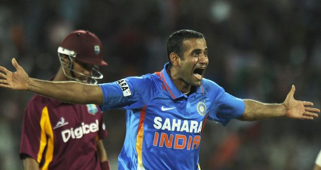Irfan Pathan: India all-rounder averages 22 with the bat and 29 with the ball in ODIs