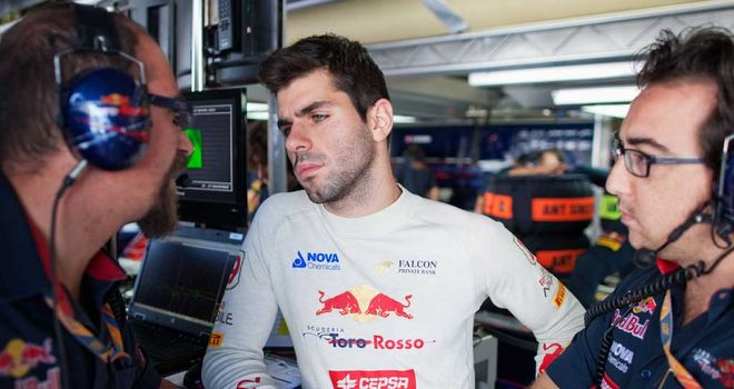 Alguersuari: Hoping to secure position as third driver