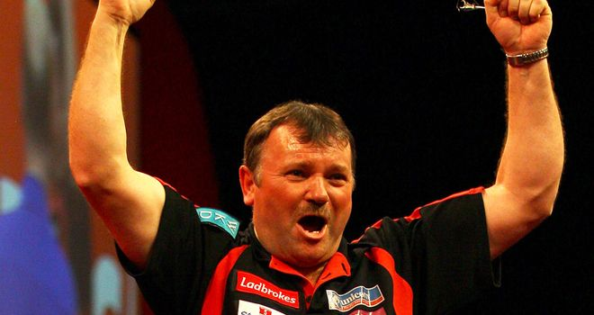 Terry Jenkins: Yet to win a major title