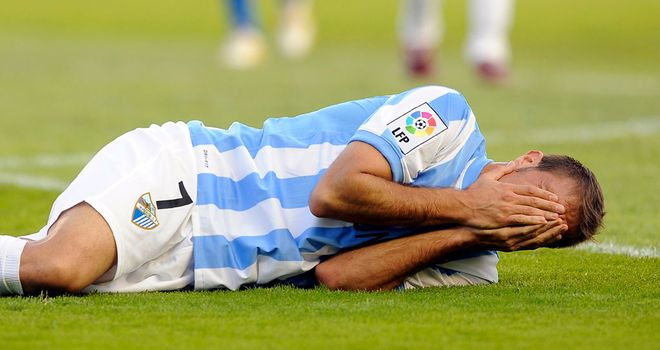 Joaquin: Malaga winger tore a muscle in his right thigh
