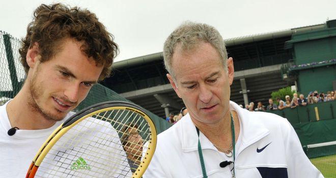 John McEnroe: Thinks Andy Murray will be fresh for Wimbledon test