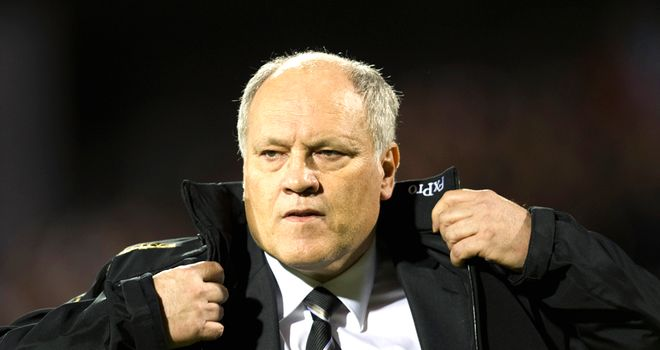 Martin Jol: Bracing himself for important games against Stoke, QPR, Wolves and Aston Villa