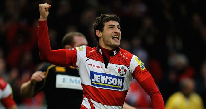 Jonny May: Starting on the wing for England Saxons