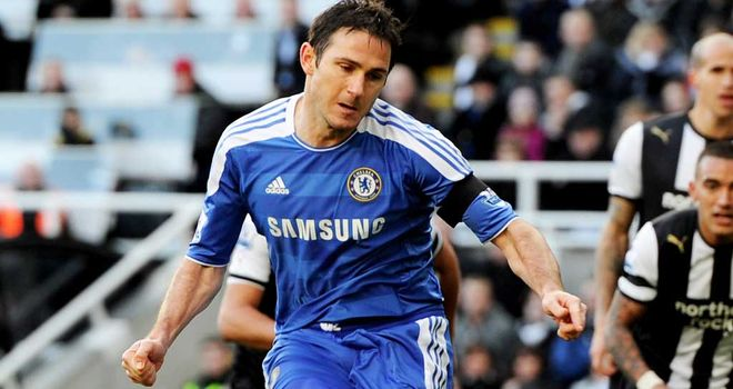 Frank Lampard: Has been linked with a move to LA Galaxy