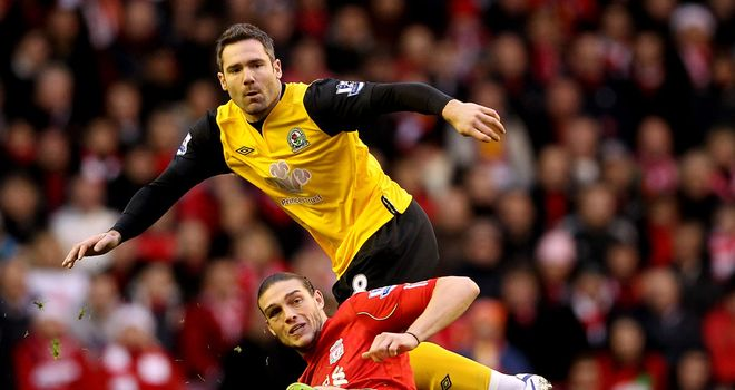 David Dunn: Determined to help Blackburn beat the drop