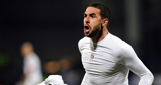 Lisandro Lopez: On the mark for Lyon in win over Reims