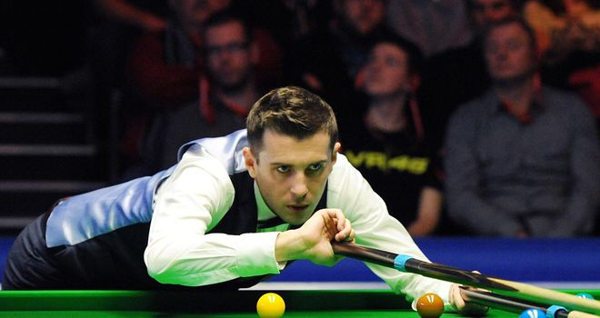 Mark Selby: was at one stage in danger of losing all six frames in the opening match of the evening