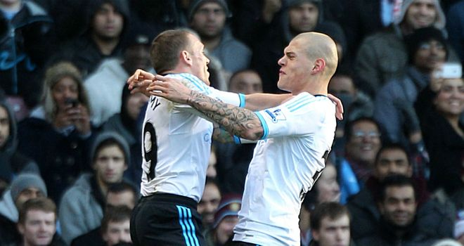 Craig Bellamy: Scored the opener before setting up Martin Srkel for the second goal at Villa Park