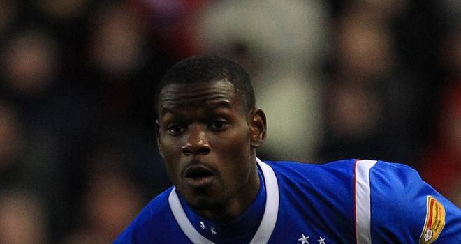 Maurice Edu: Has been a regular for Rangers this season, but Sochaux are keen to snap him up