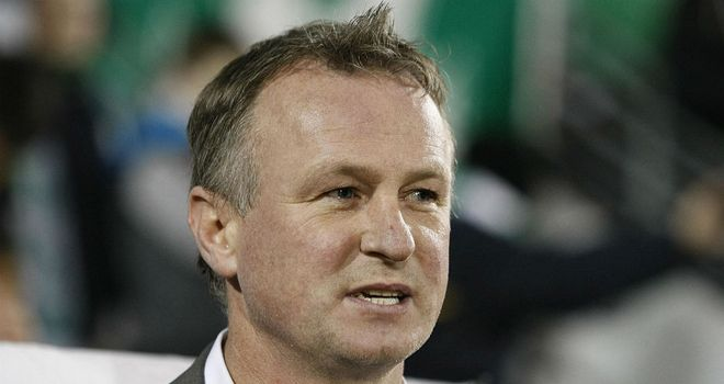 Michael O'Neill: Has met his first Northern Ireland squad to face Norway on Wednesday