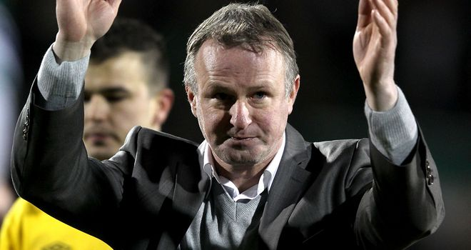 Michael O'Neill: Set to take charge of his first game as Northern Ireland manager