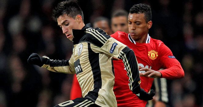 Nicolas Gaitan: Reported to be a top target for Manchester United manager Sir Alex Ferguson
