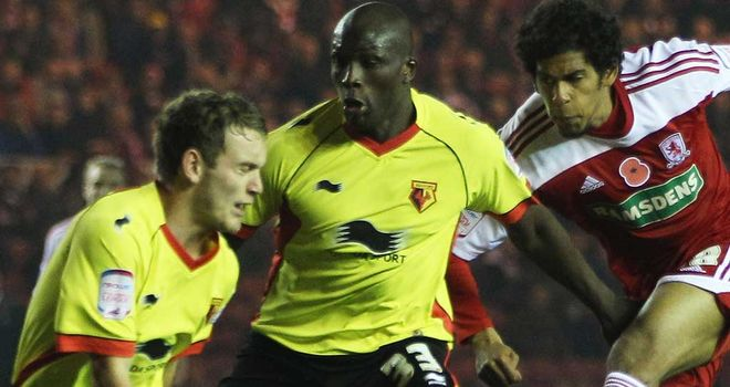 Nyron Nosworthy: Impressed Watford boss Dyche during loan move