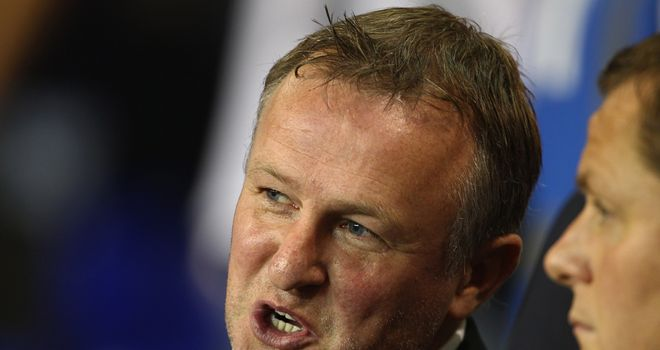 Michael O'Neill: Keen to give experience to youngsters such as Ryan McLaughlin