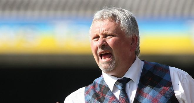 Sturrock: Blasted his players
