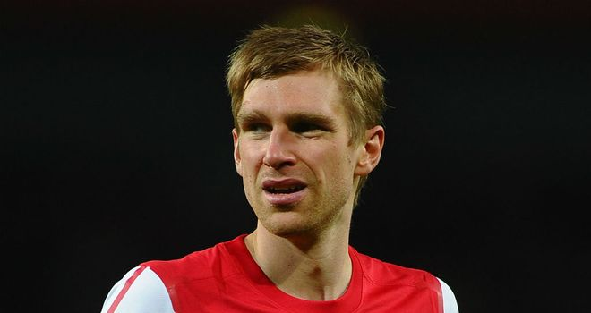 Per Mertesacker: Picked up an ankle injury during Arsenal's win over Sunderland