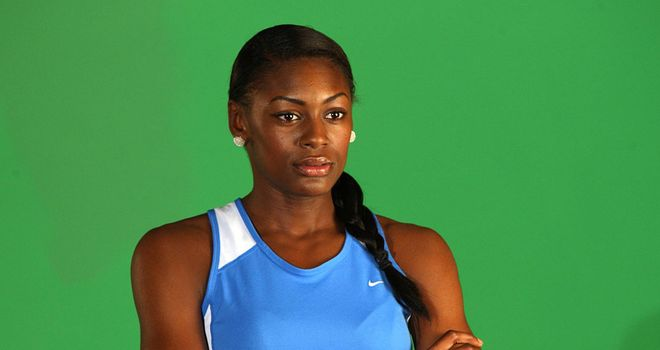 Perri Shakes-Drayton: Out in South Africa training