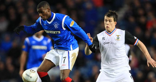 Maurice Edu: Rangers midfielder has not been the subject of a bid from Ipswich, according to Paul Jewell