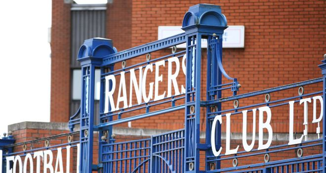 Ibrox: Financially-crippled Rangers saw Bill Miller withdraw his offer for the club on Tuesday